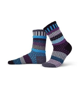 WOOL MULBERRY CREW SOCKS