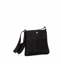 GEORGIA CORK CROSSBODY - BLACK