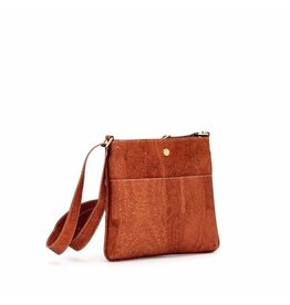 GEORGIA CORK CROSSBODY - SALTED CARAMEL