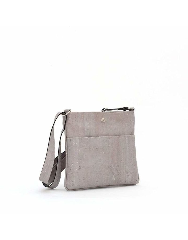 GEORGIA CORK CROSSBODY - GREY