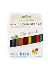 ECO-CRAYON STICKS - 20 PACK
