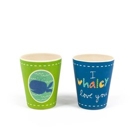 BAMBOOZLE WALLY WHALE CUP (2 Options)