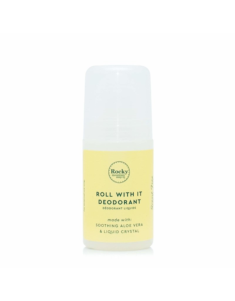 ROCKY MOUNTAIN SOAP CO. NATURAL DEODORANT - UNSCENTED