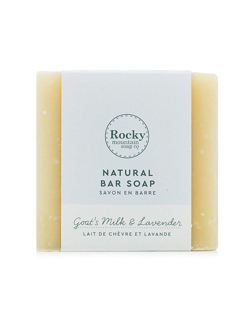 ROCKY MOUNTAIN SOAP CO. BIG BEAUTIFUL BAR SOAP - GOAT'S MILK + LAVENDER