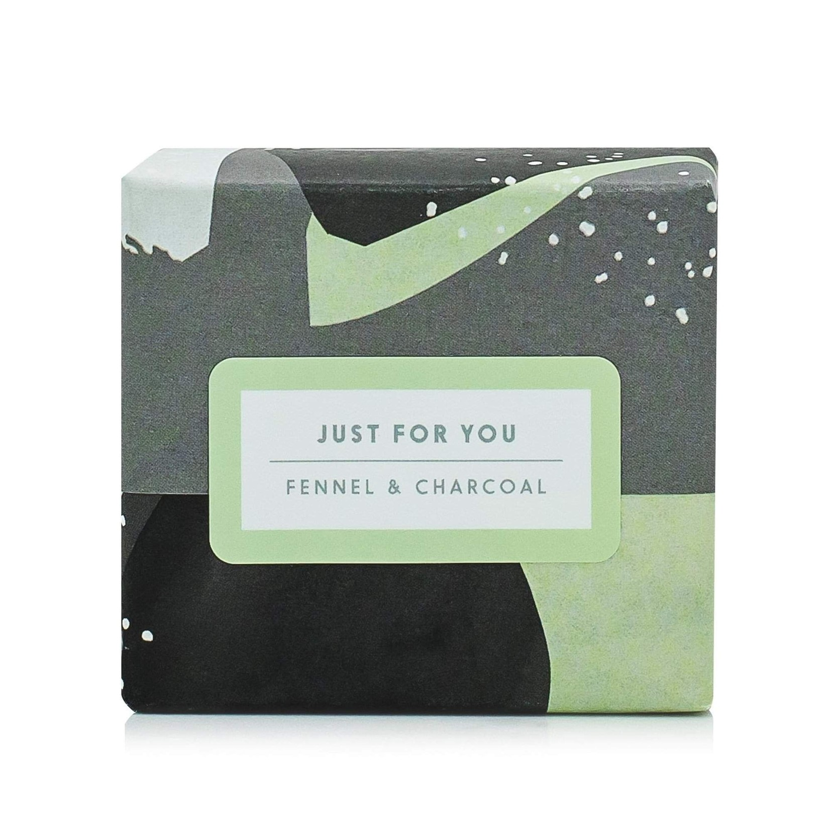 ROCKY MOUNTAIN SOAP CO. BIG BEAUTIFUL BAR SOAP - FENNEL + CHARCOAL