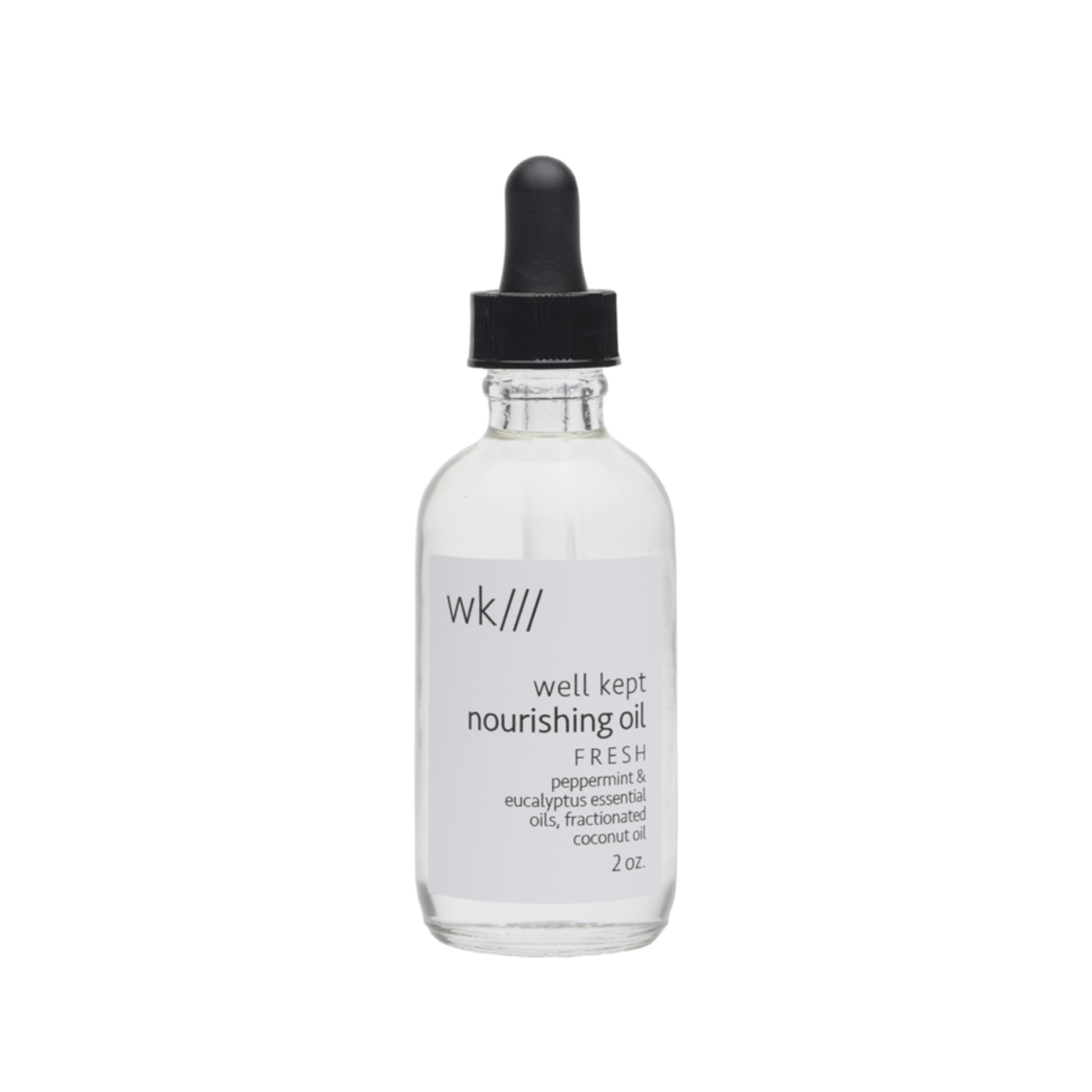 WELL KEPT NOURISHING BODY OIL - FRESH