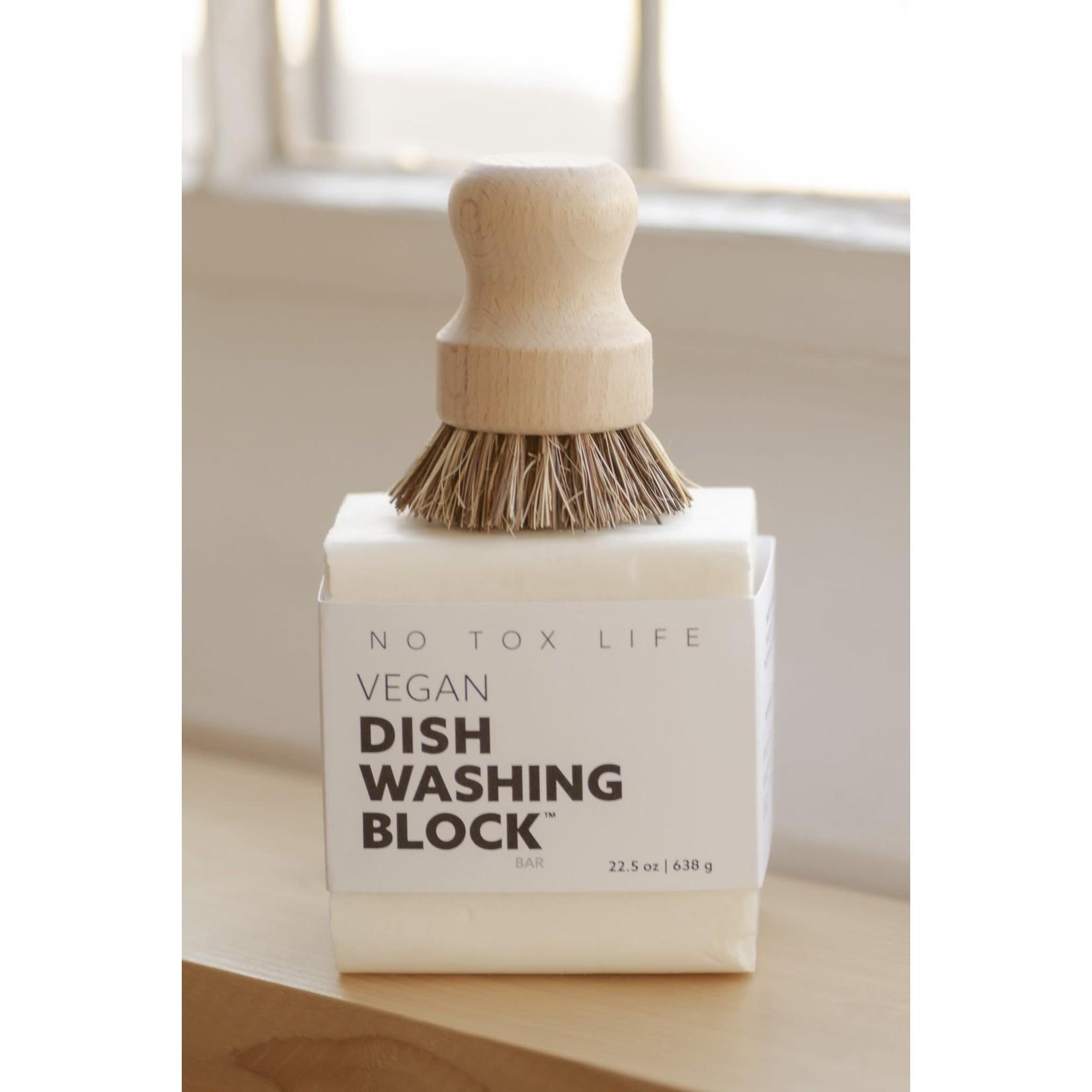 NO TOX LIFE DISH BLOCK® ZERO WASTE DISH WASHING BAR
