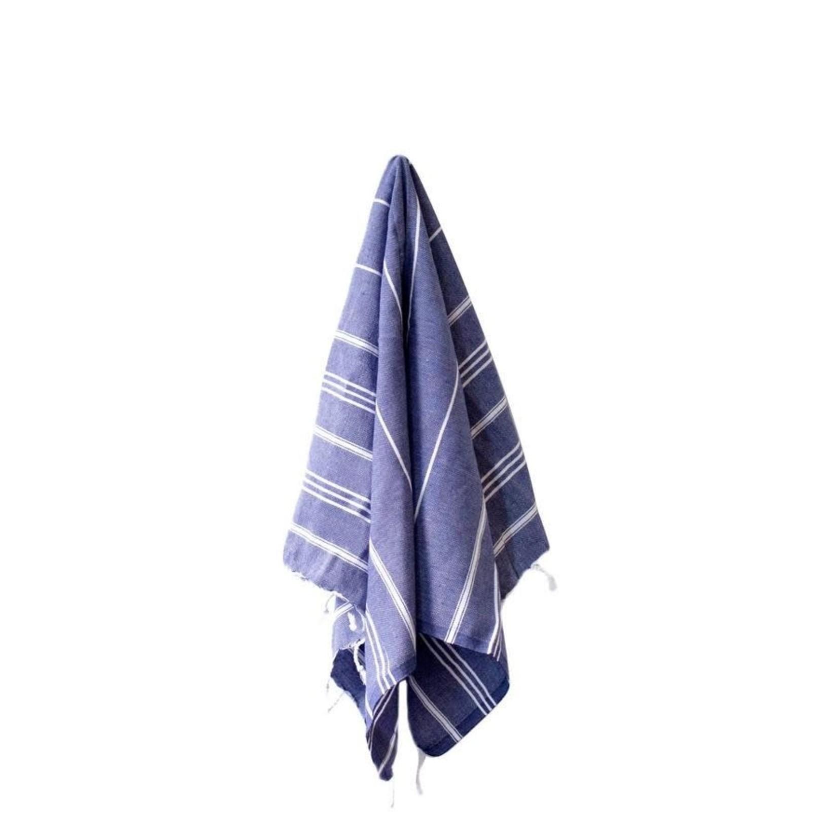 STRAY + WANDER MARIN SMALL TOWEL - DENIM