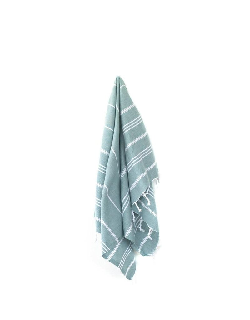 MARIN SMALL TOWEL - GREEN
