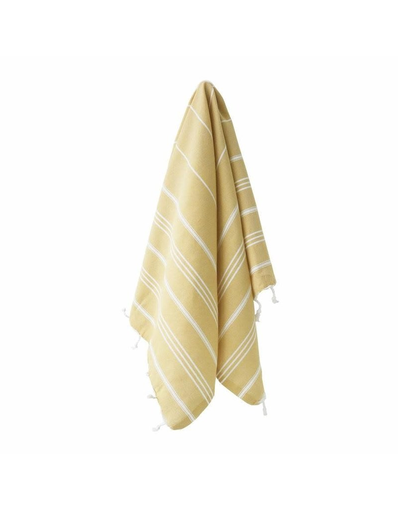 MARIN SMALL TOWEL - MUSTARD YELLOW