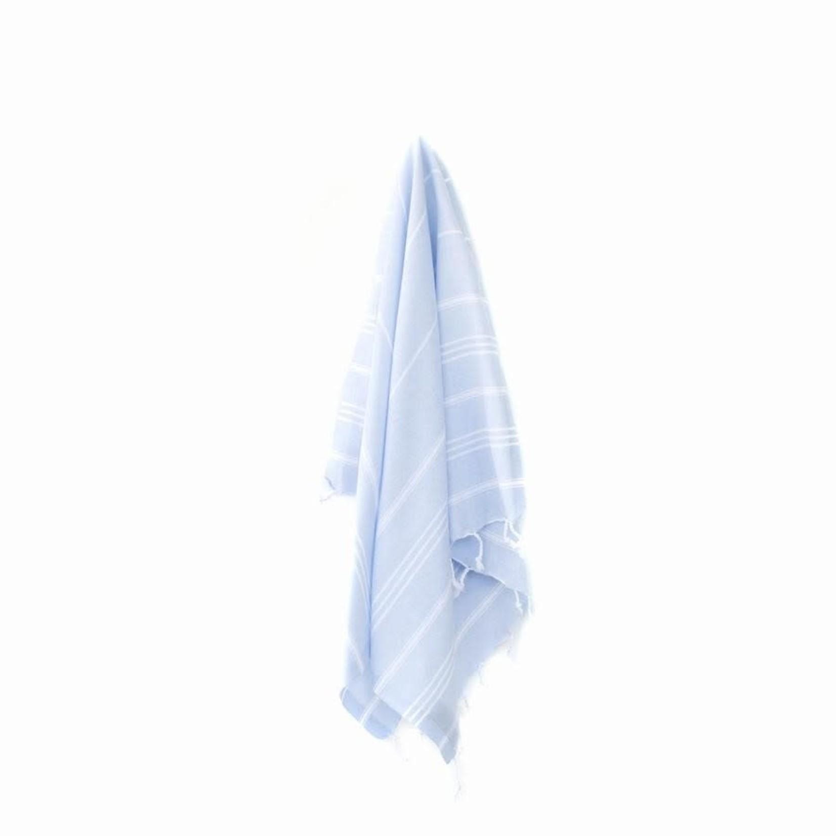 STRAY + WANDER MARIN SMALL TOWEL - POWDER BLUE