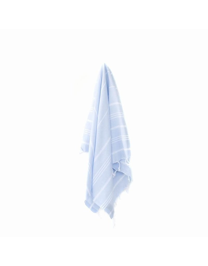 MARIN SMALL TOWEL - POWDER BLUE