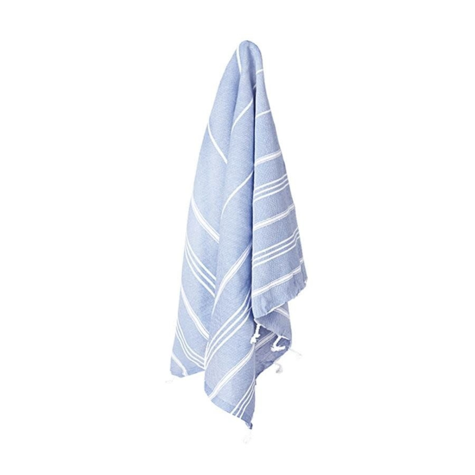 STRAY + WANDER MARIN SMALL TOWEL - TRUE BLUE