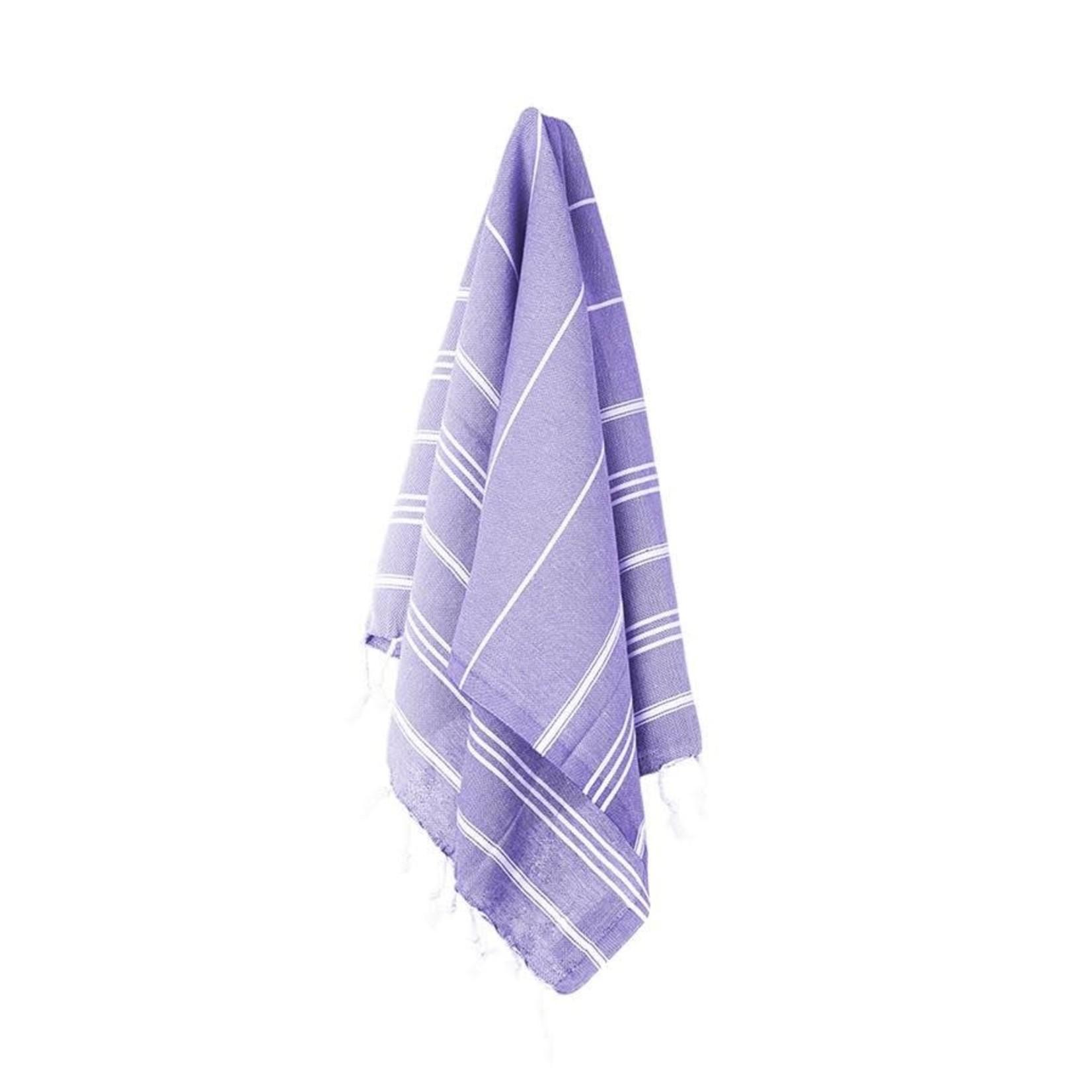 STRAY + WANDER MARIN SMALL TOWEL - ROYAL PURPLE