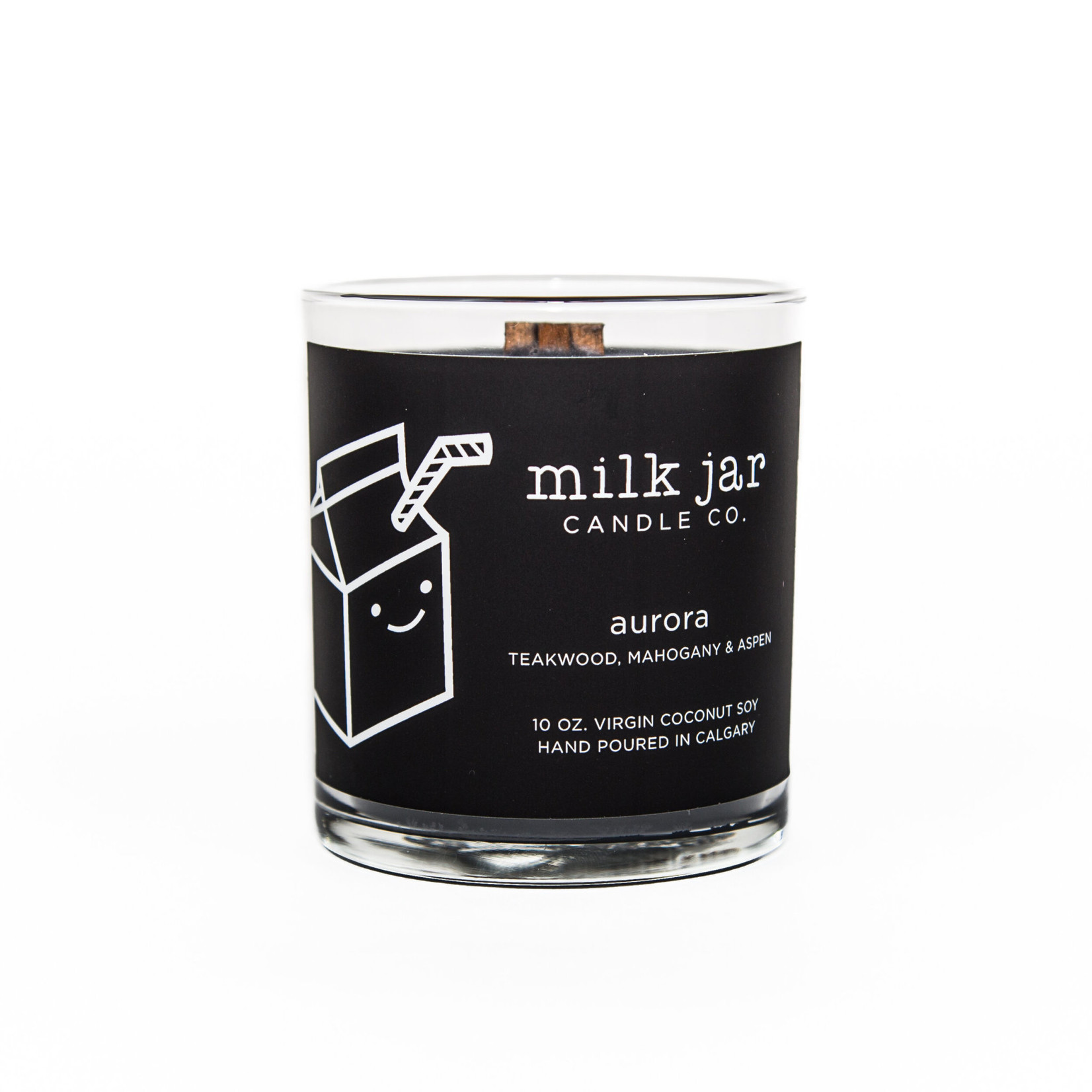 MILK JAR CANDLE CO. AURORA CANDLE