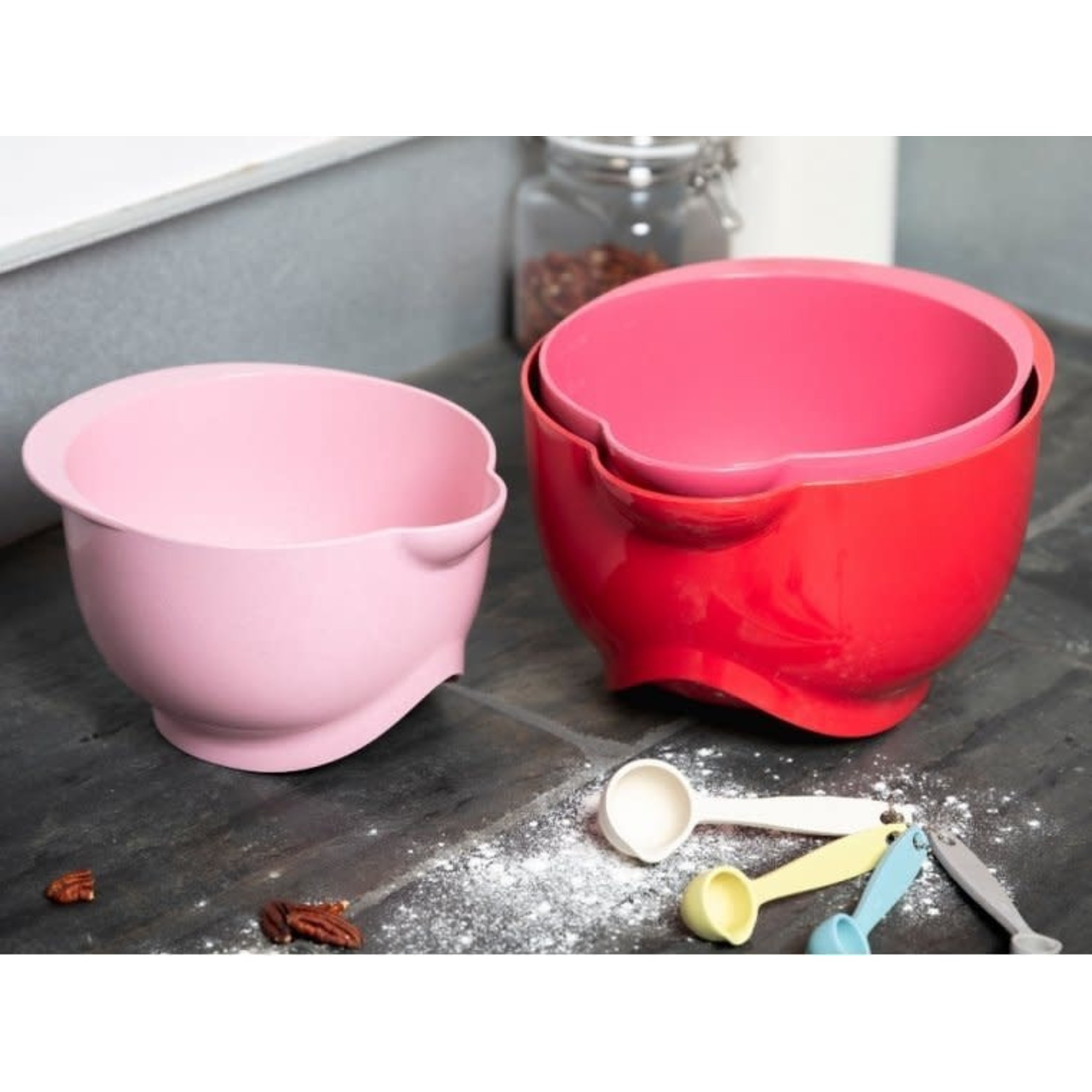 BAMBOOZLE HOME THE SUSTAINABOWL SET RED