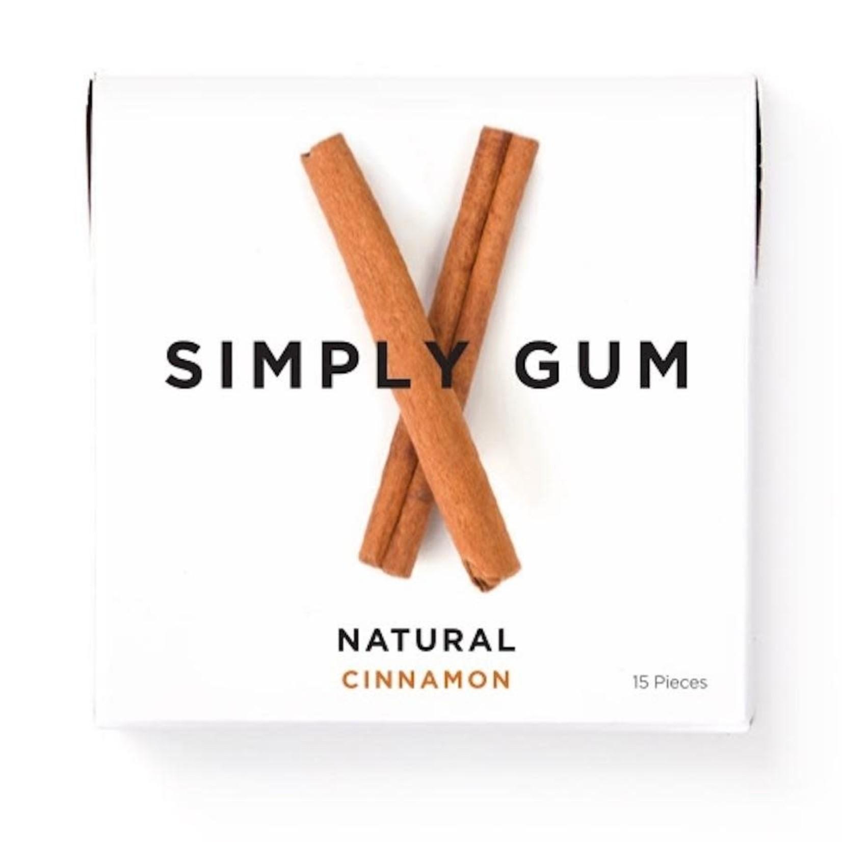 SIMPLY GUM CINNAMON GUM