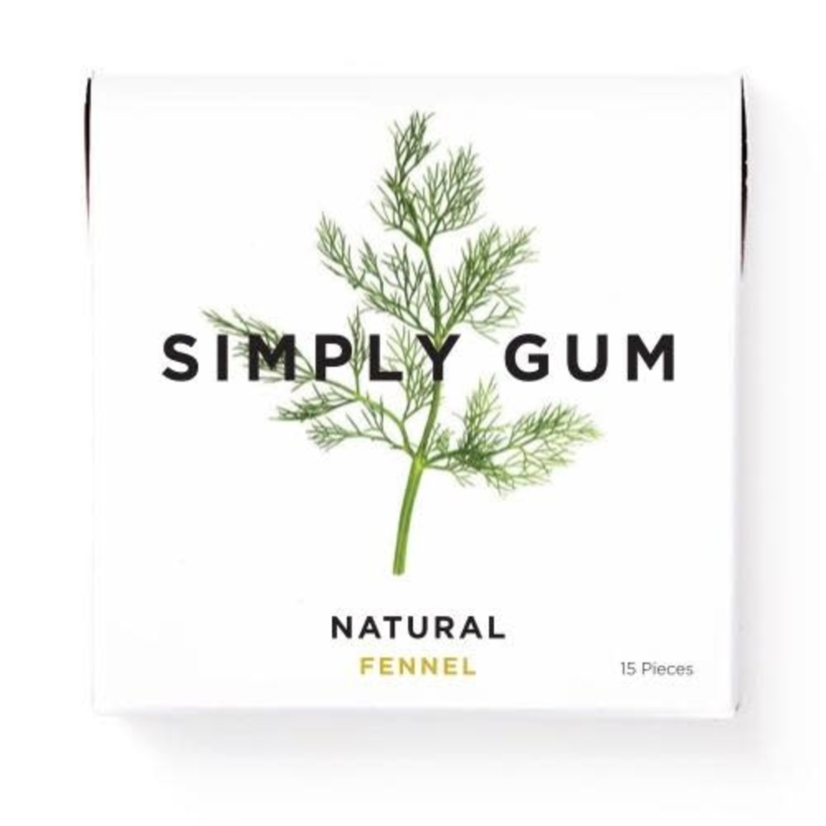 SIMPLY GUM FENNEL GUM