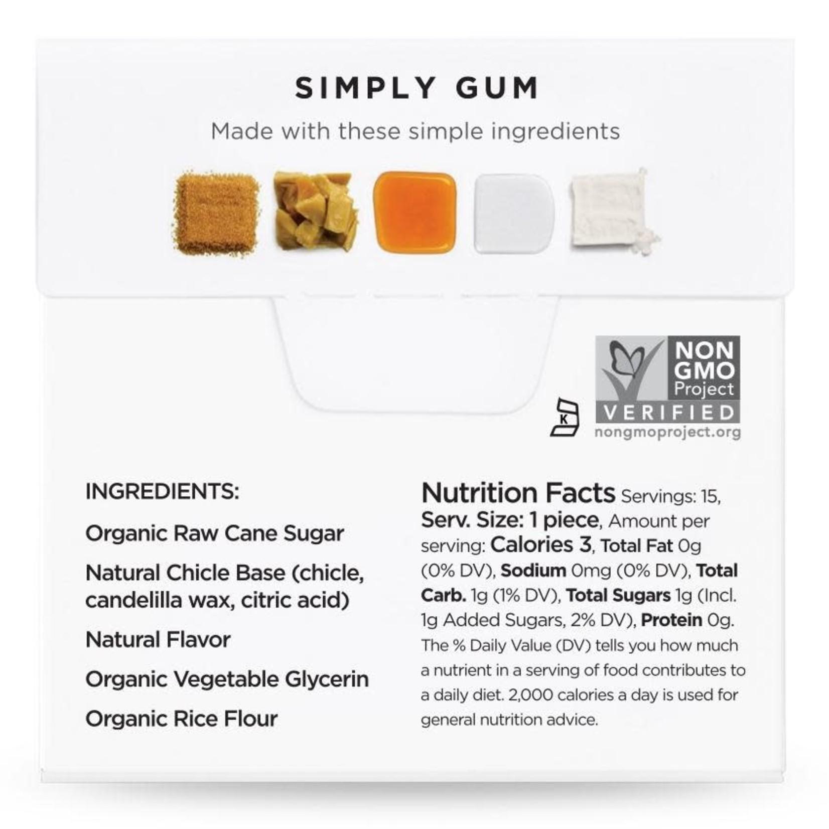 SIMPLY GUM MAPLE GUM