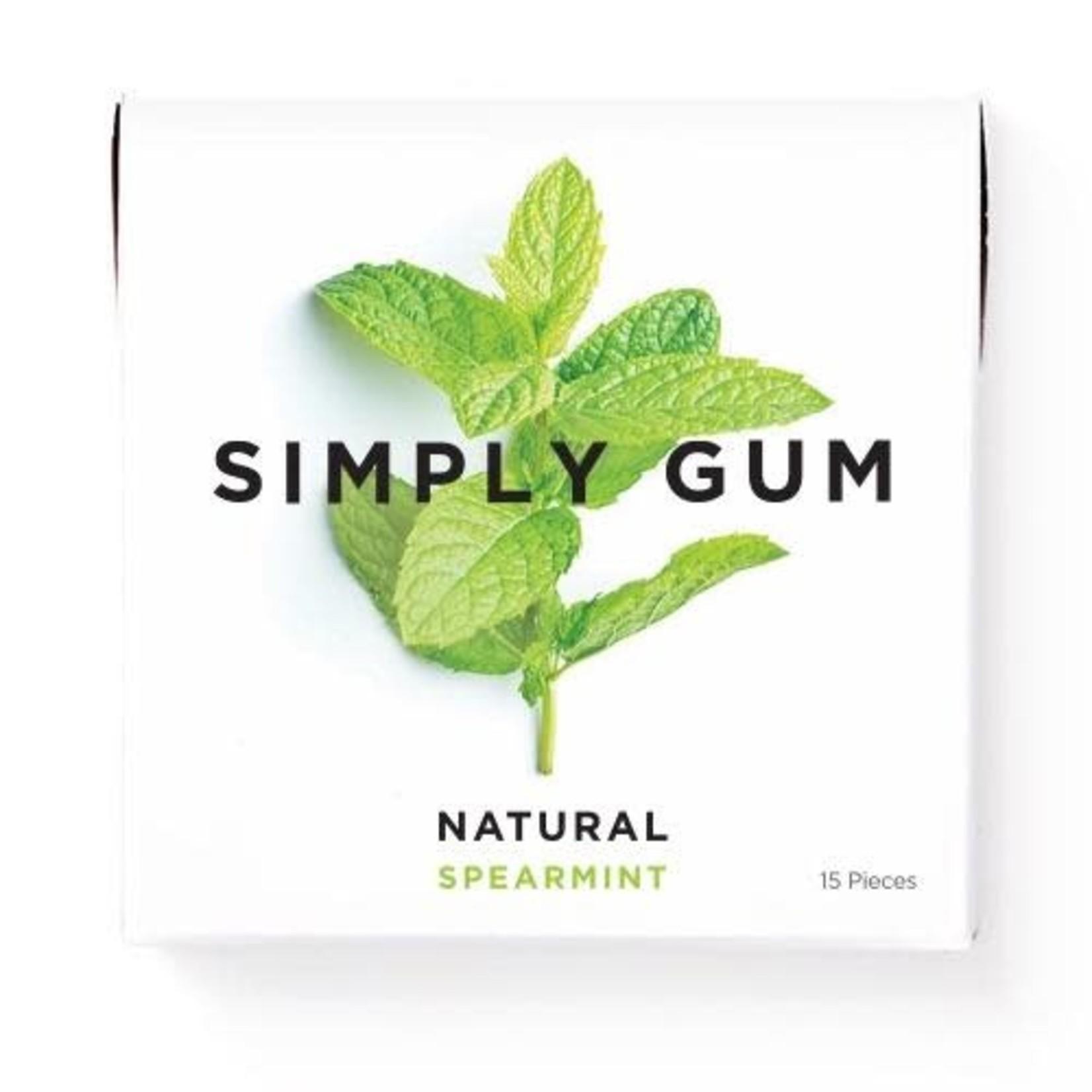 SIMPLY GUM SPEARMINT GUM