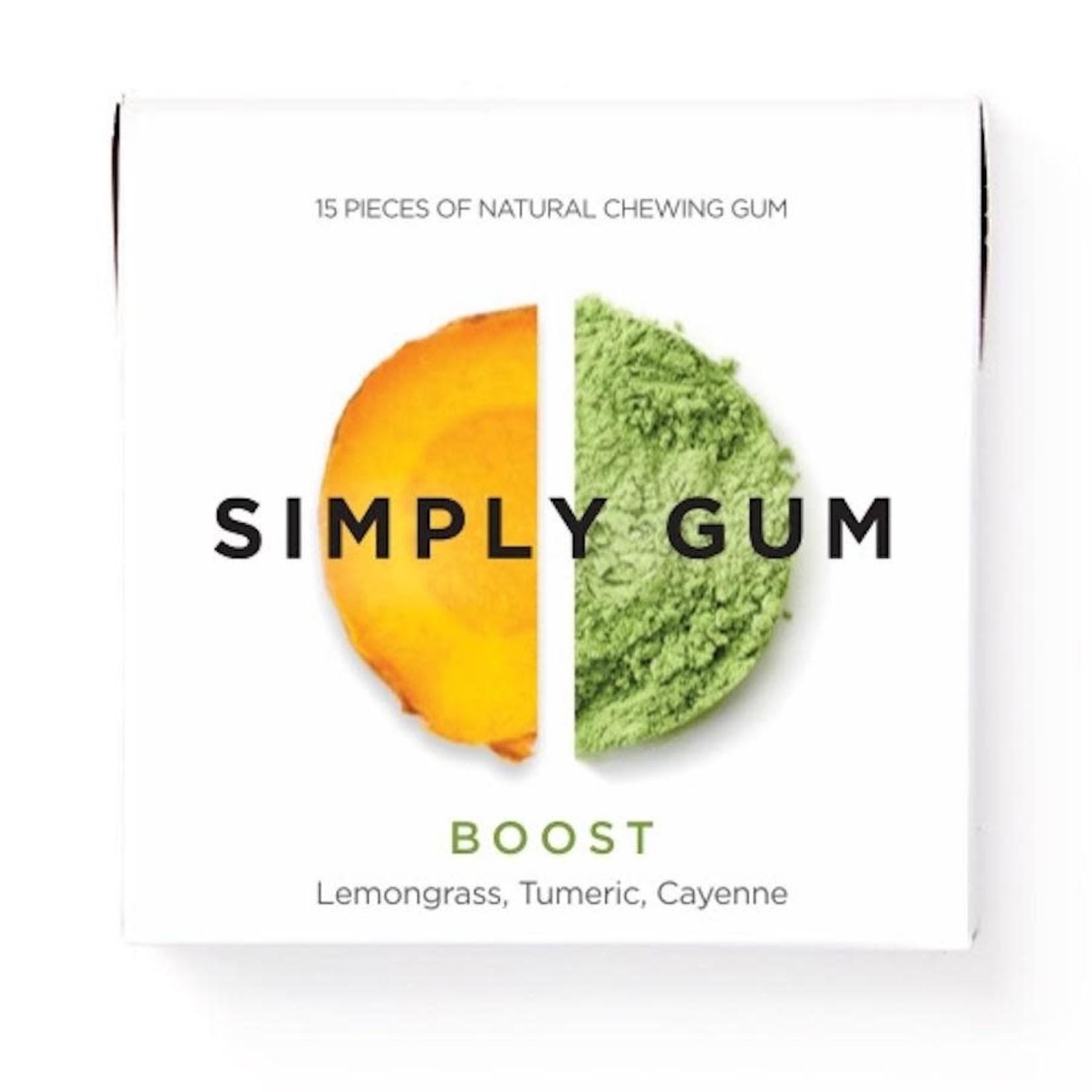 SIMPLY GUM BOOST GUM