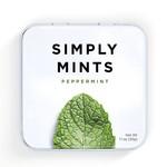 SIMPLY GUM PEPPERMINT MINTS