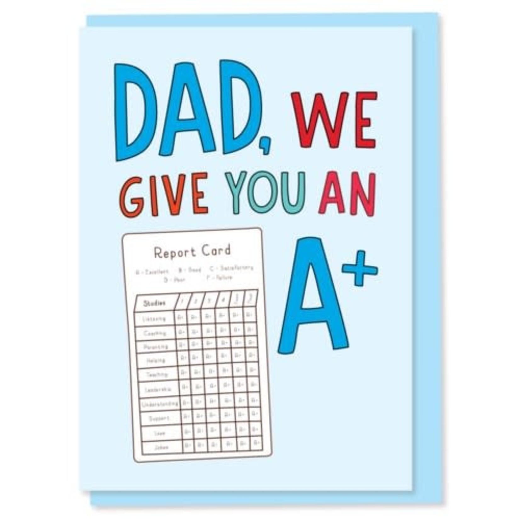 A+ DAD CARD