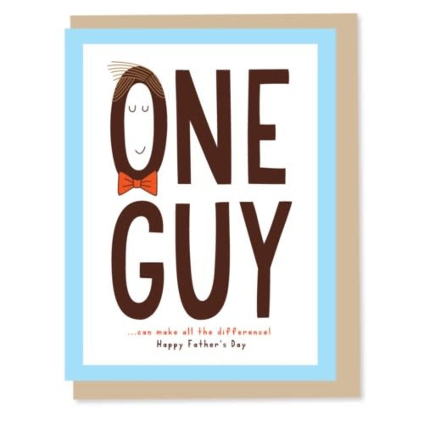 ONE GUY CARD
