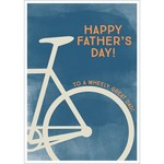 WHEELY GREAT DAD CARD