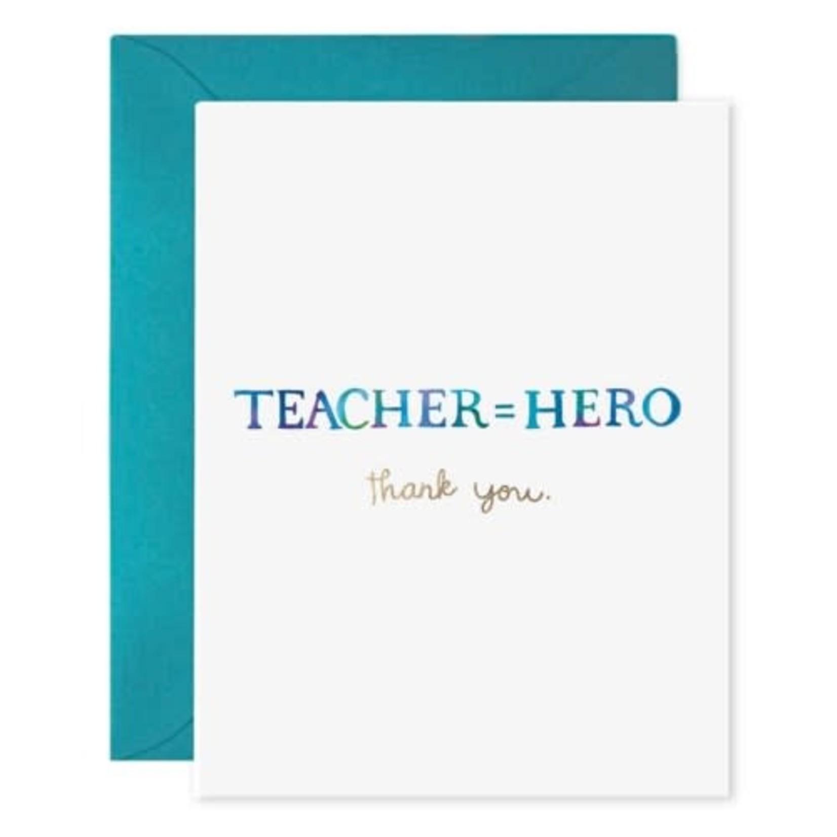 TEACHER = HERO CARD