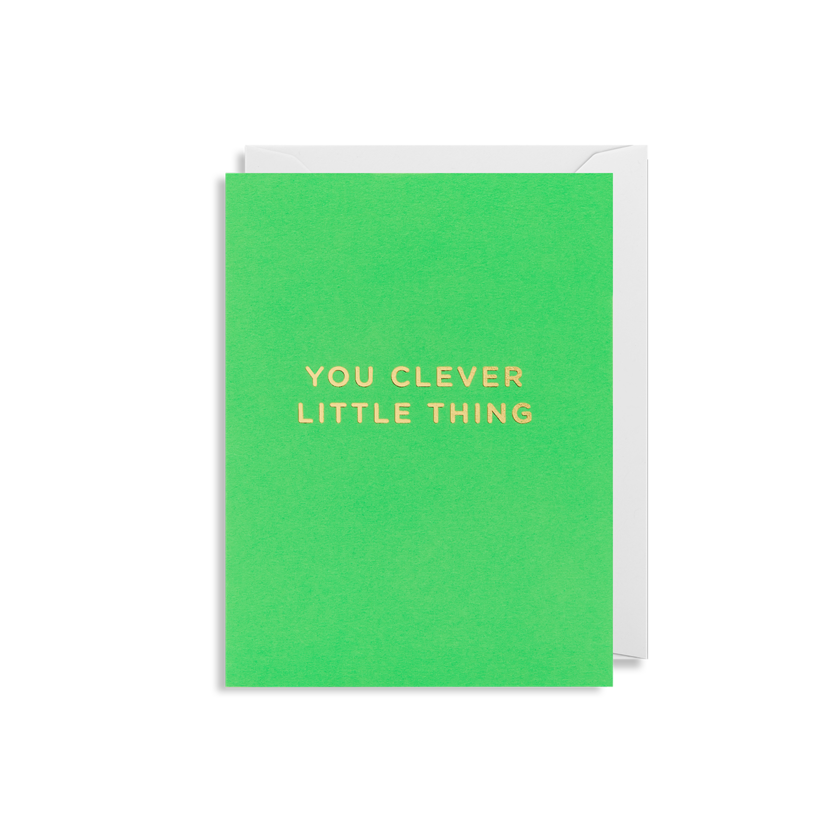 YOU CLEVER LITTLE THING CARD