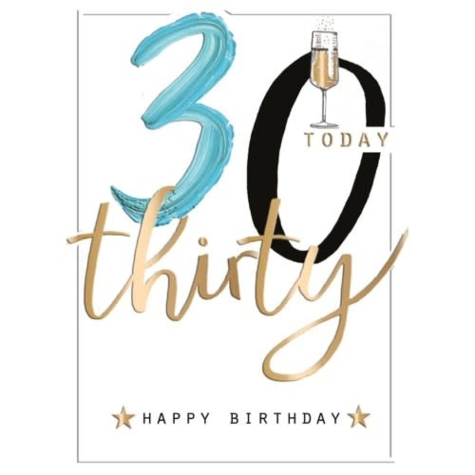 30 TODAY CARD