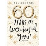 60 YEARS OF WONDERFUL YOU CARD
