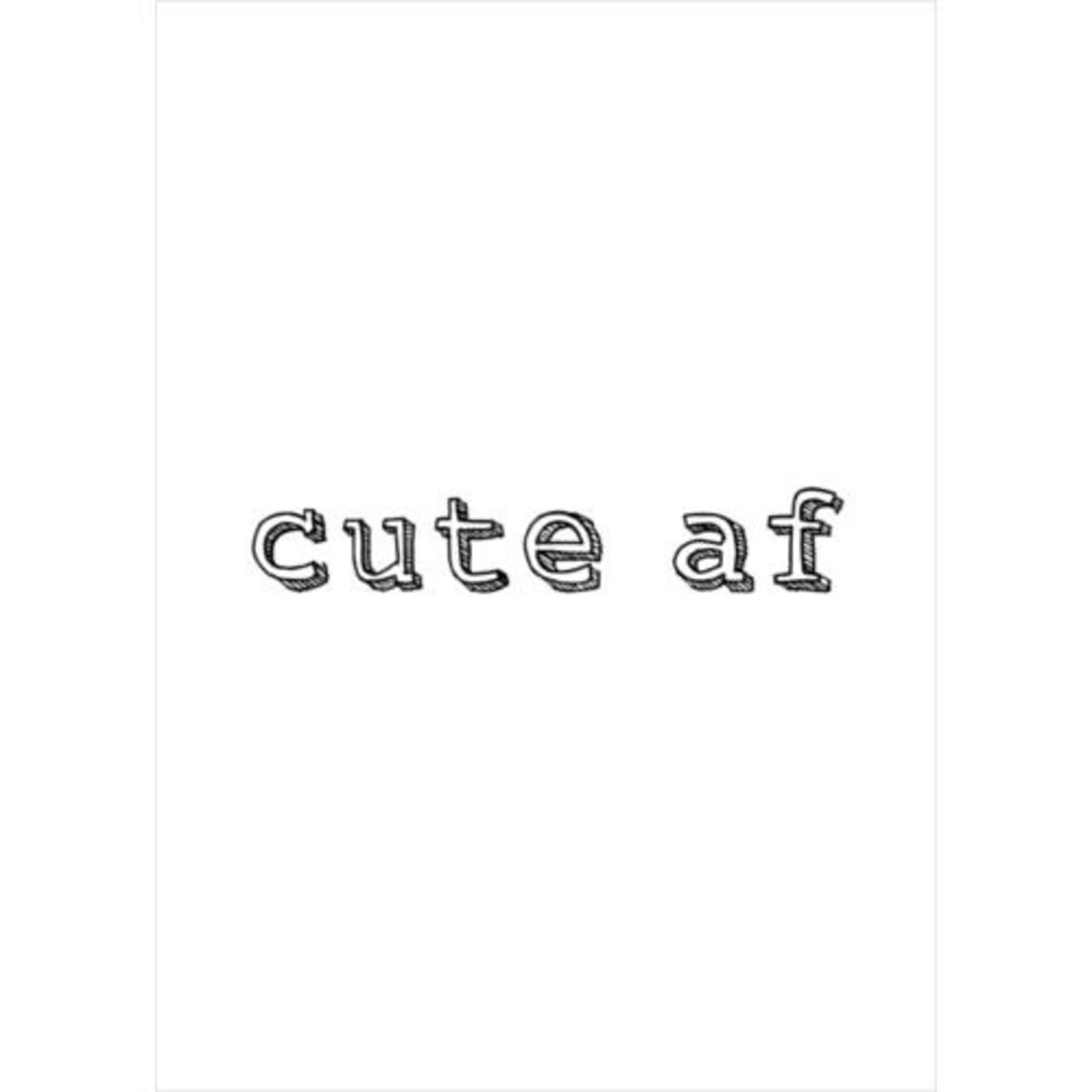 CUTE AF CARD