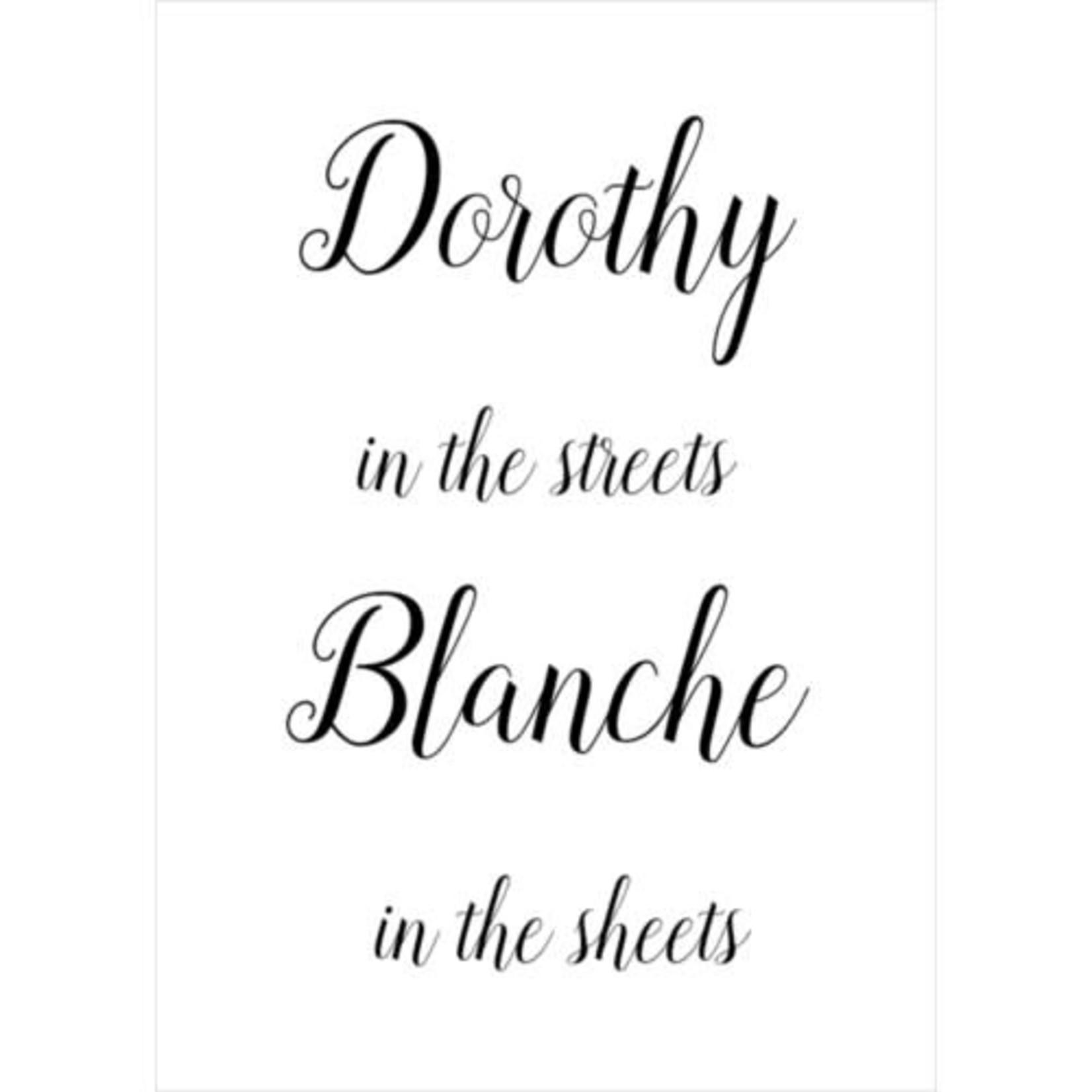 DOROTHY + BLANCHE CARD