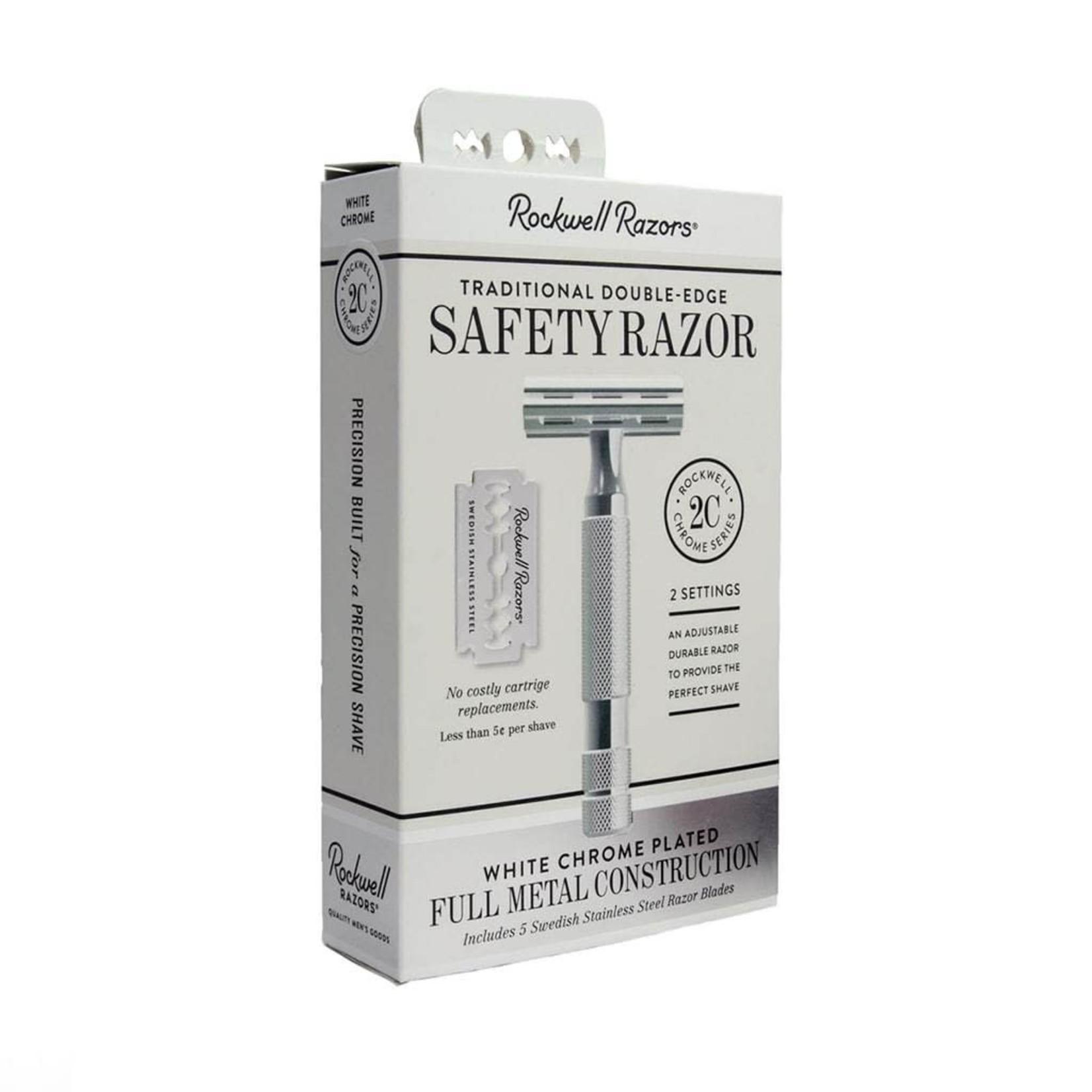 ROCKWELL RAZORS 2C DOUBLE EDGE SAFETY RAZOR