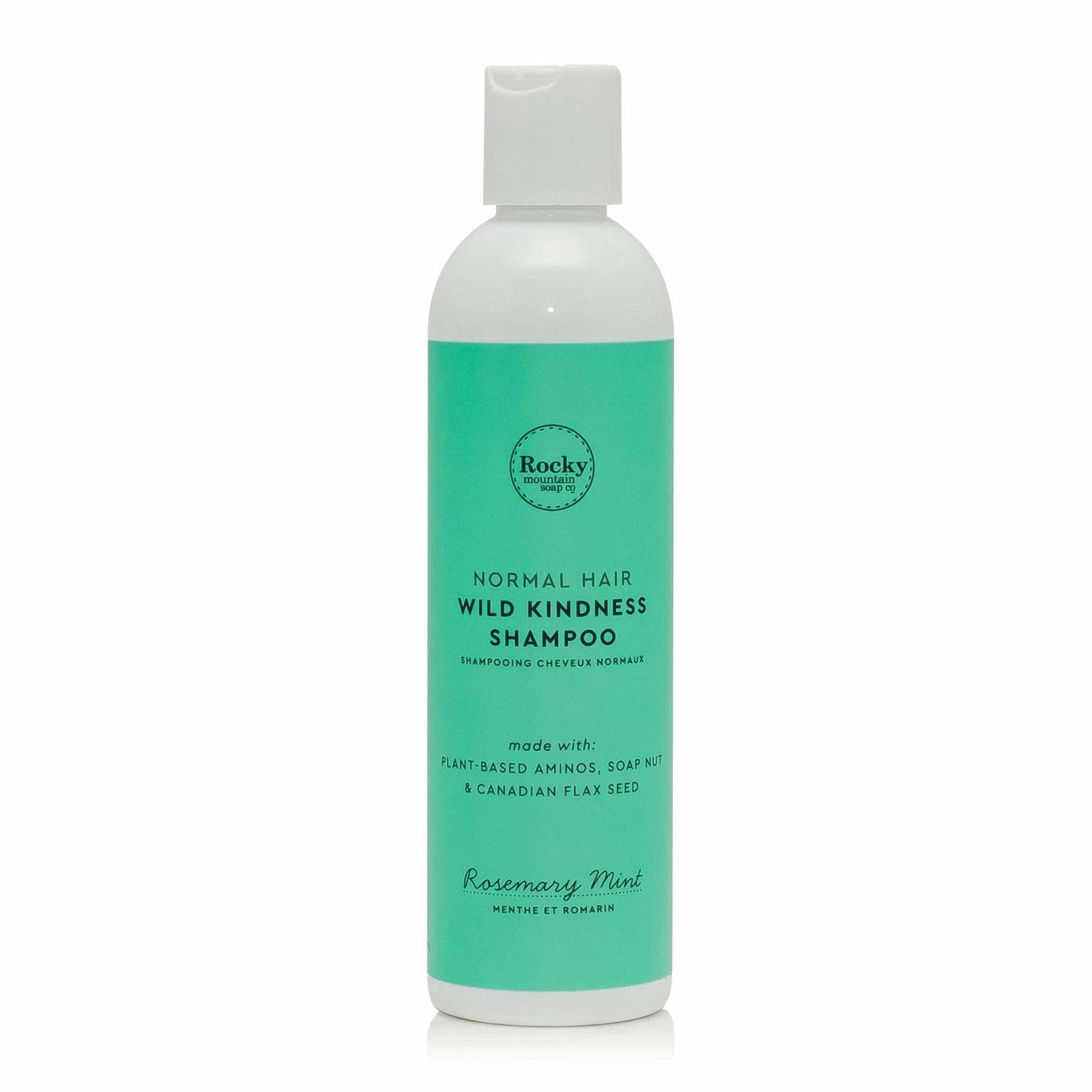 ROCKY MOUNTAIN SOAP CO. NORMAL HAIR WILD KINDNESS SHAMPOO - ROSEMARY MINT