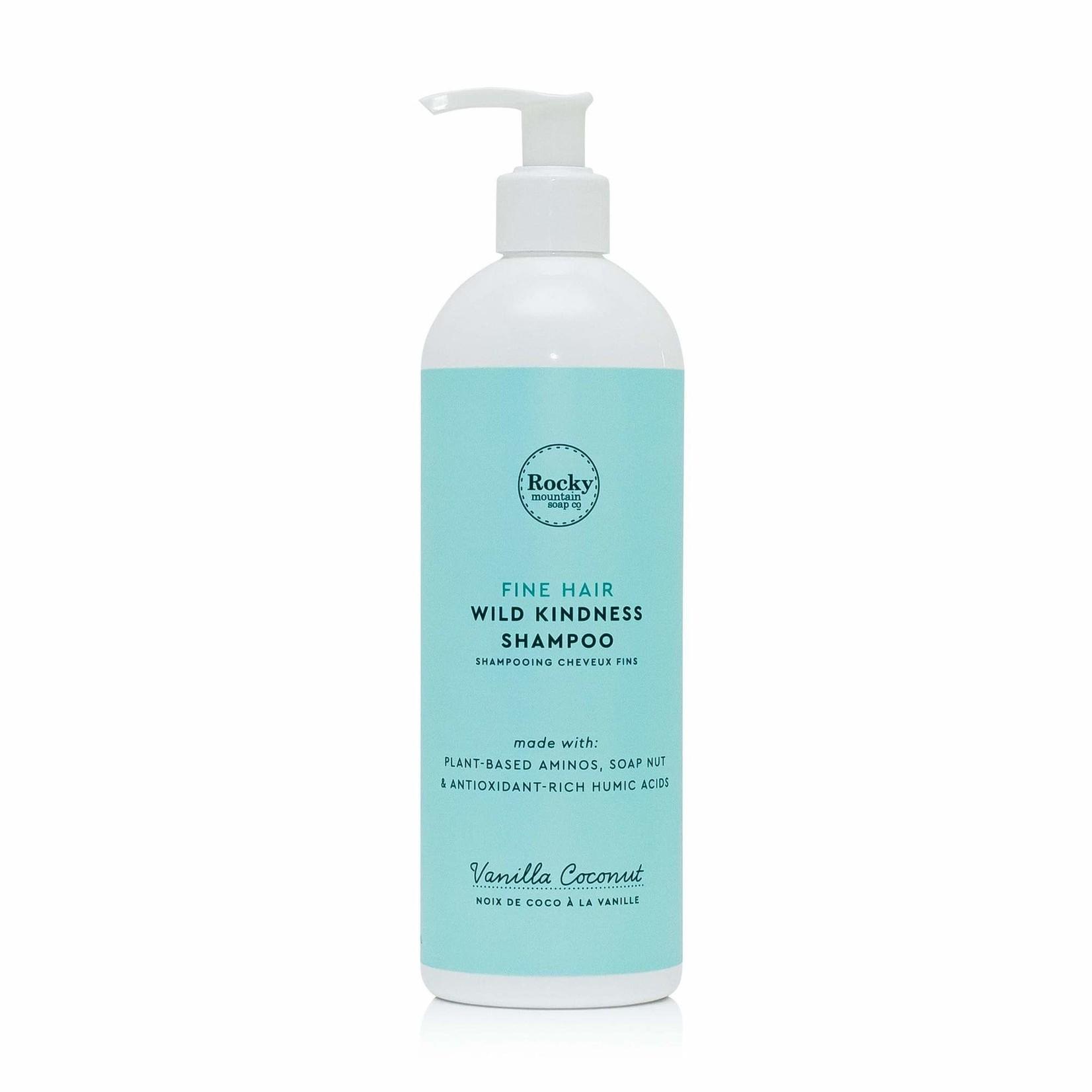 ROCKY MOUNTAIN SOAP CO. FINE HAIR WILD KINDNESS SHAMPOO - VANILLA COCONUT