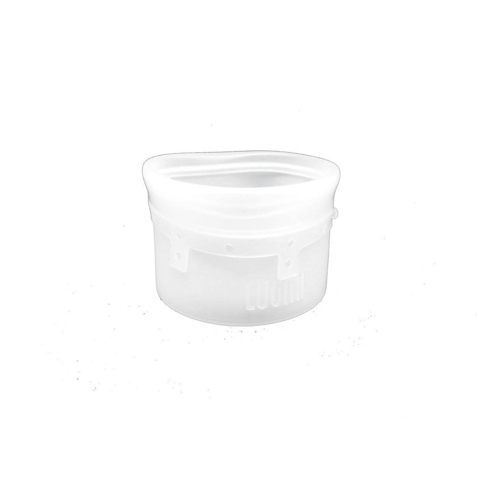 SMALL SILICONE BAG - CLEAR