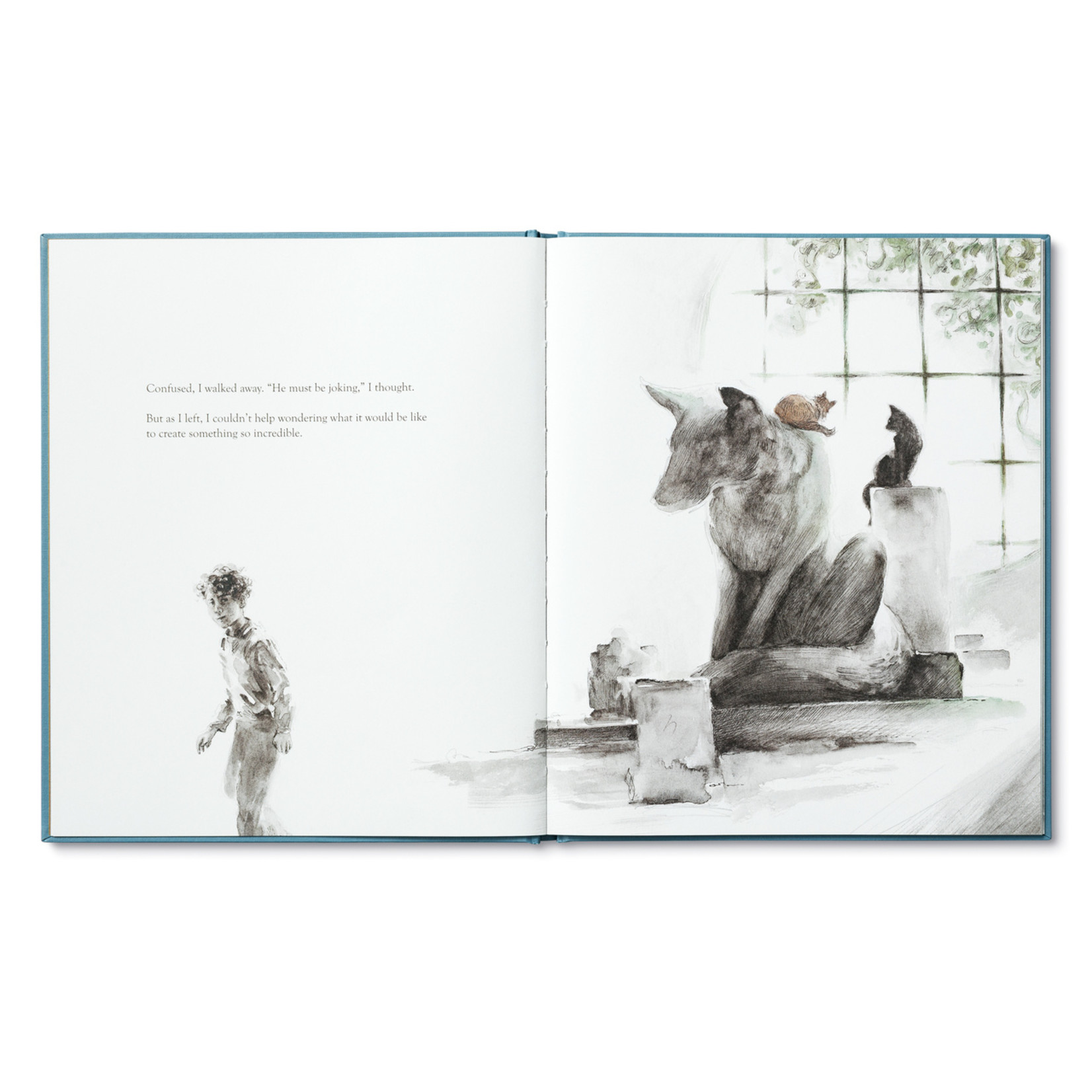 ILLUSTRATED BOOK - TRYING