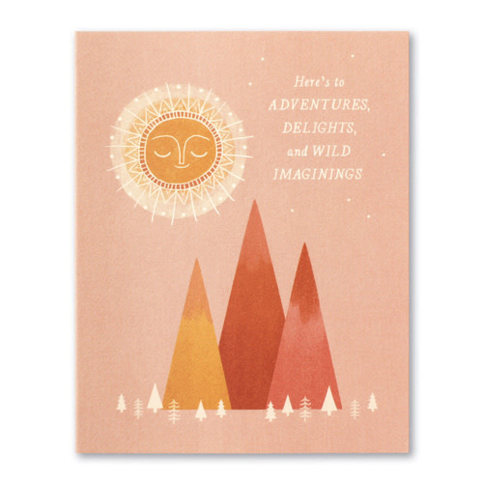 HERE'S TO ADVENTURES CARD