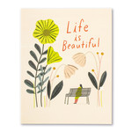 COMPENDIUM LIFE IS BEAUTIFUL CARD