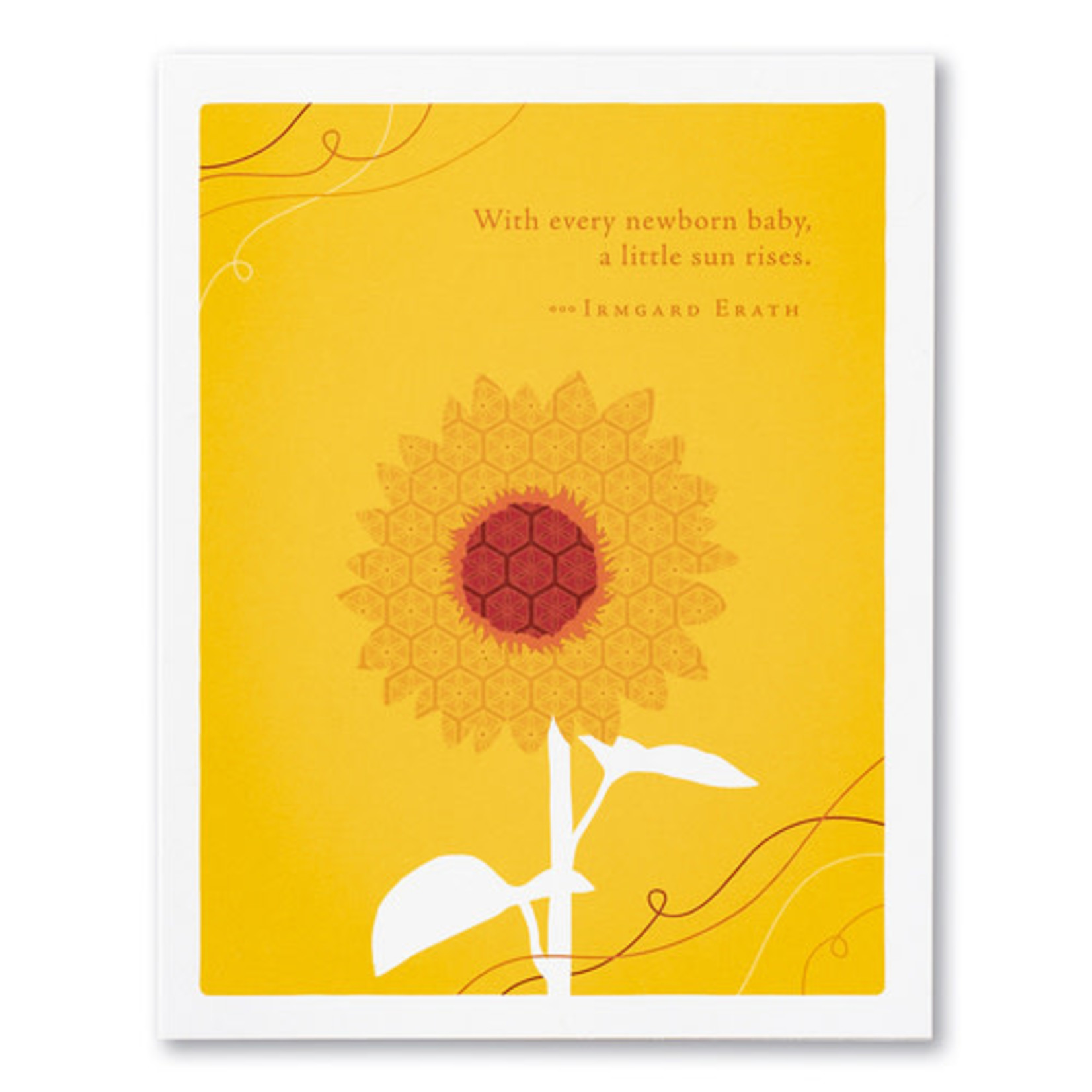 WITH EVERY NEWBORN BABY CARD