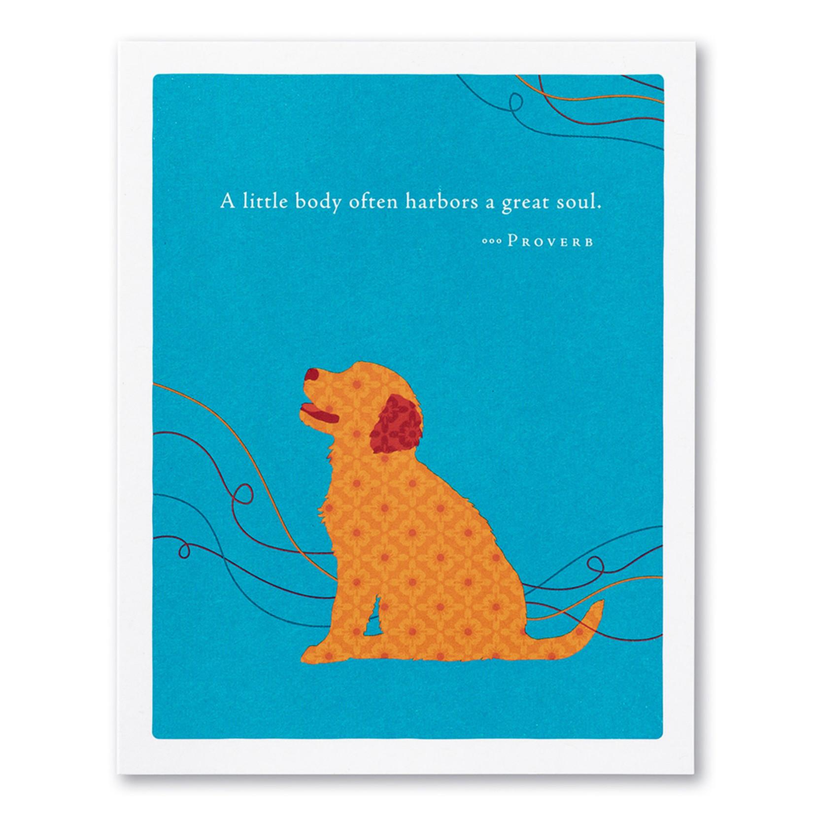 A LITTLE BODY OFTEN CARD