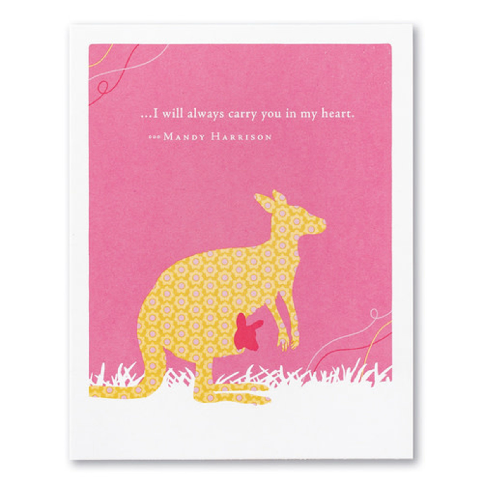 I WILL ALWAYS CARRY YOU CARD