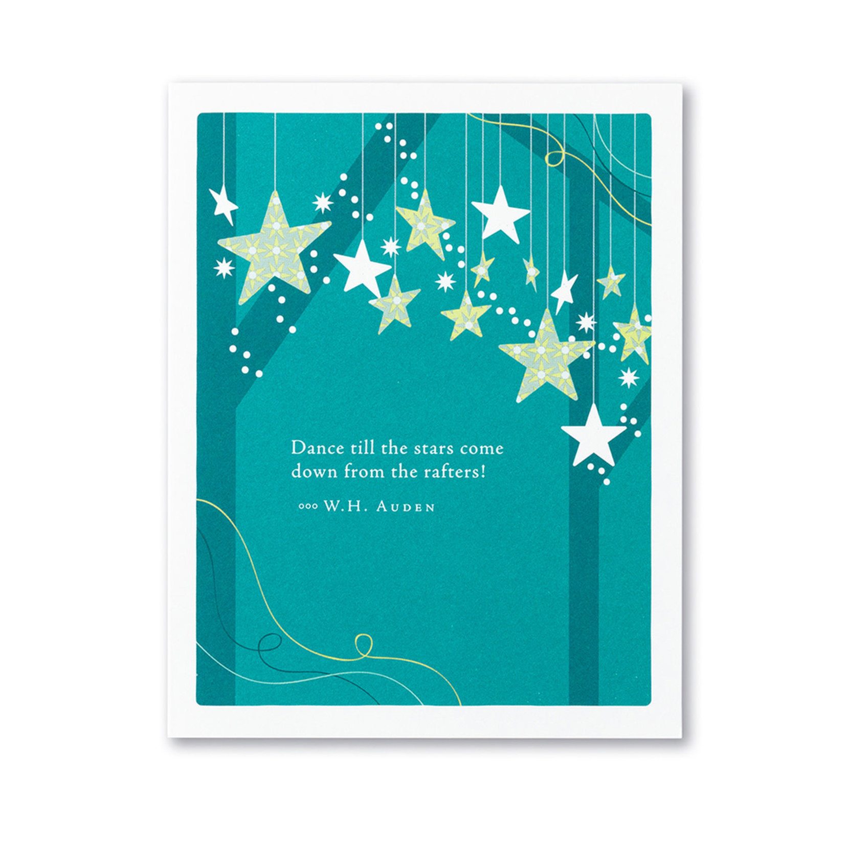DANCE TILL THE STARS COME DOWN CARD