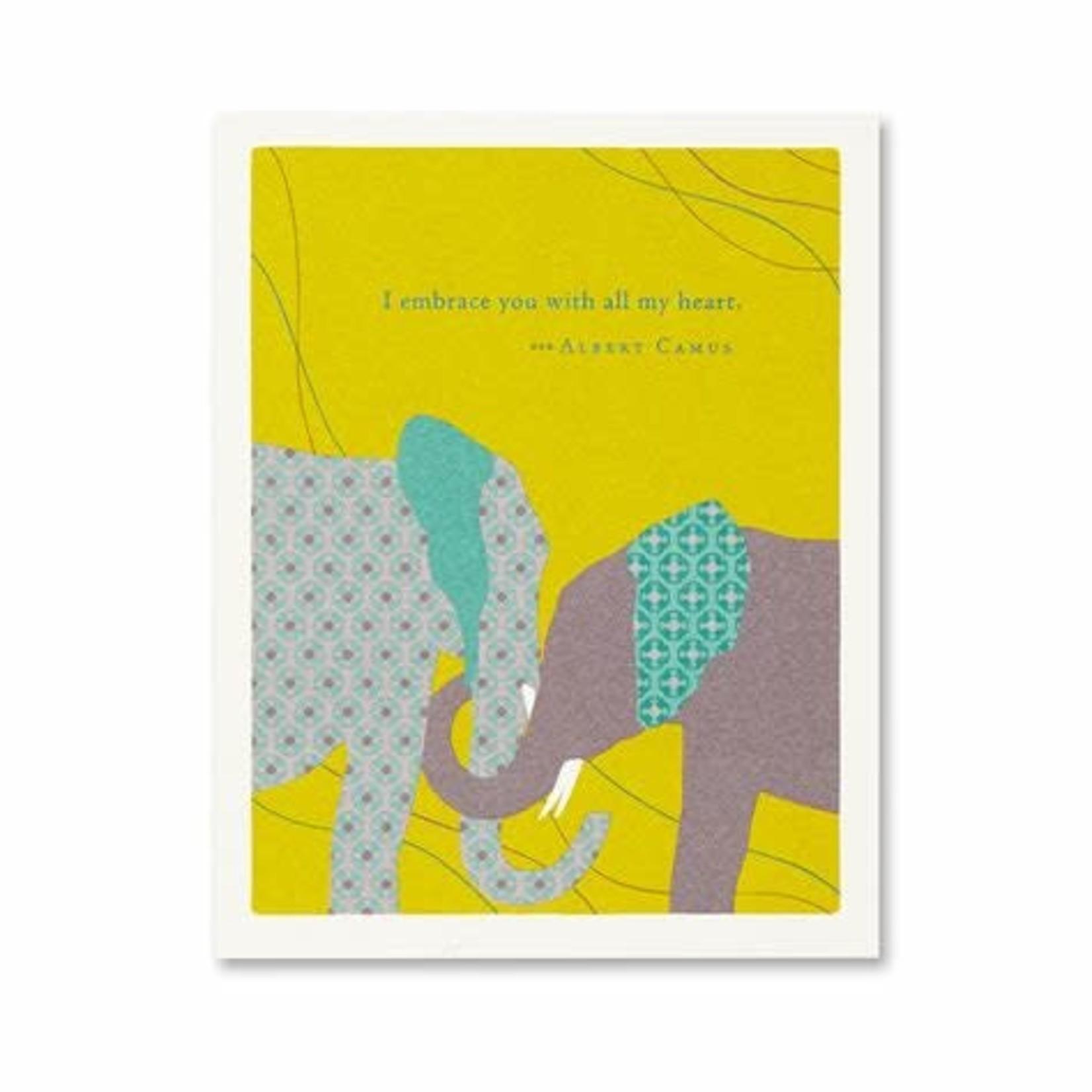 I EMBRACE YOU CARD
