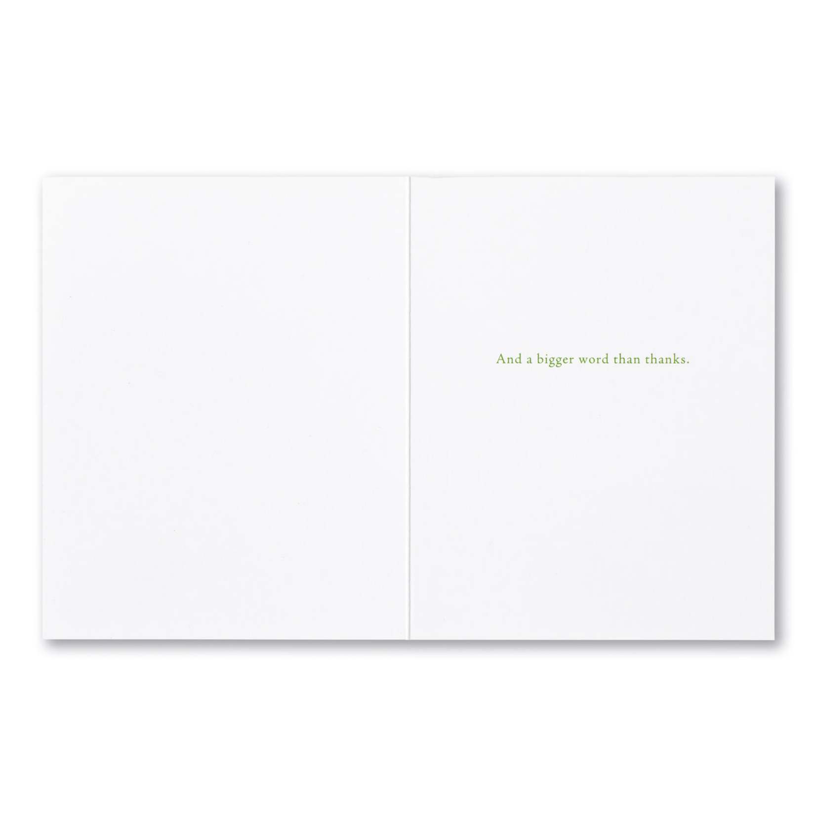 I WANT A BRIGHTER WORD CARD