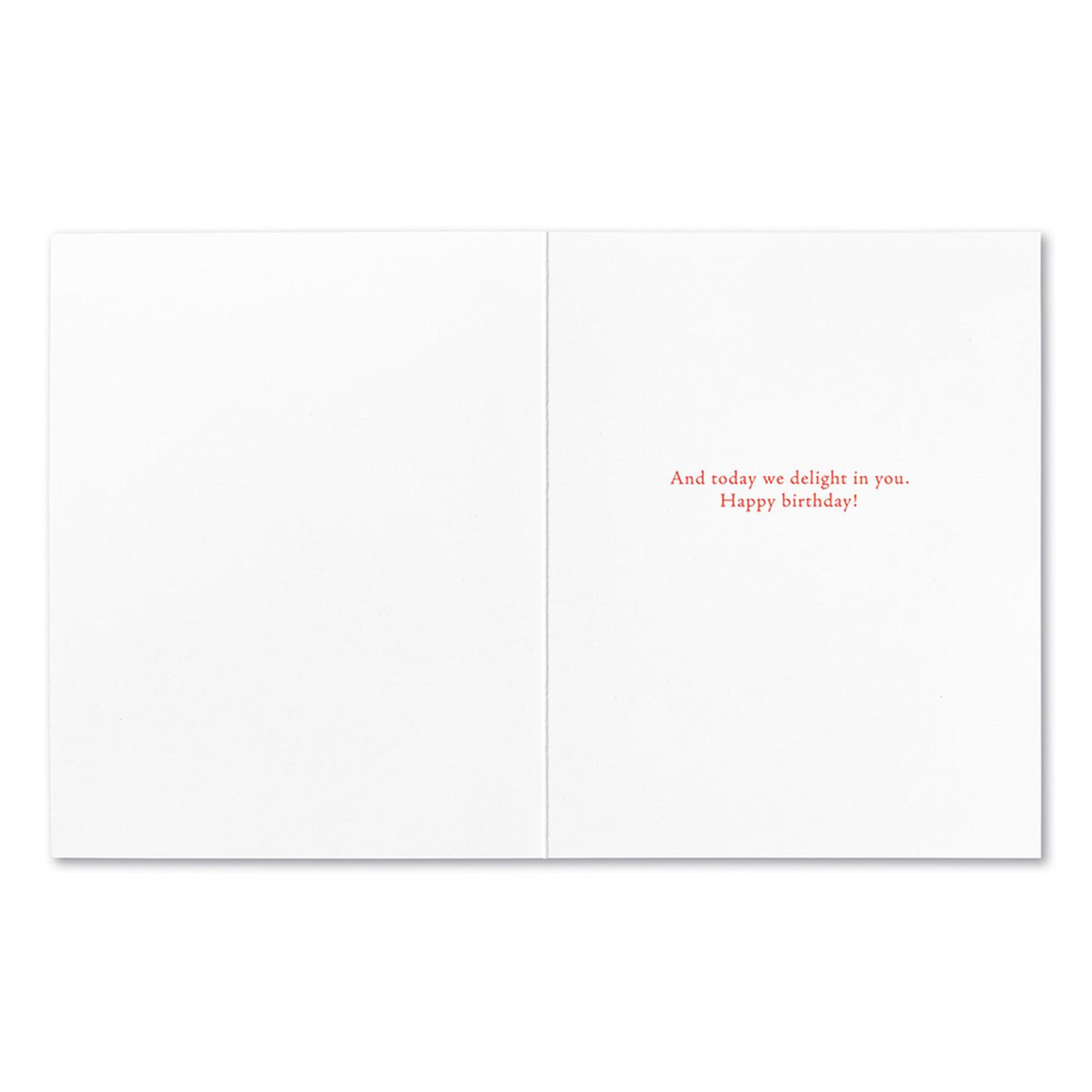 JOY DELIGHTS IN JOY CARD