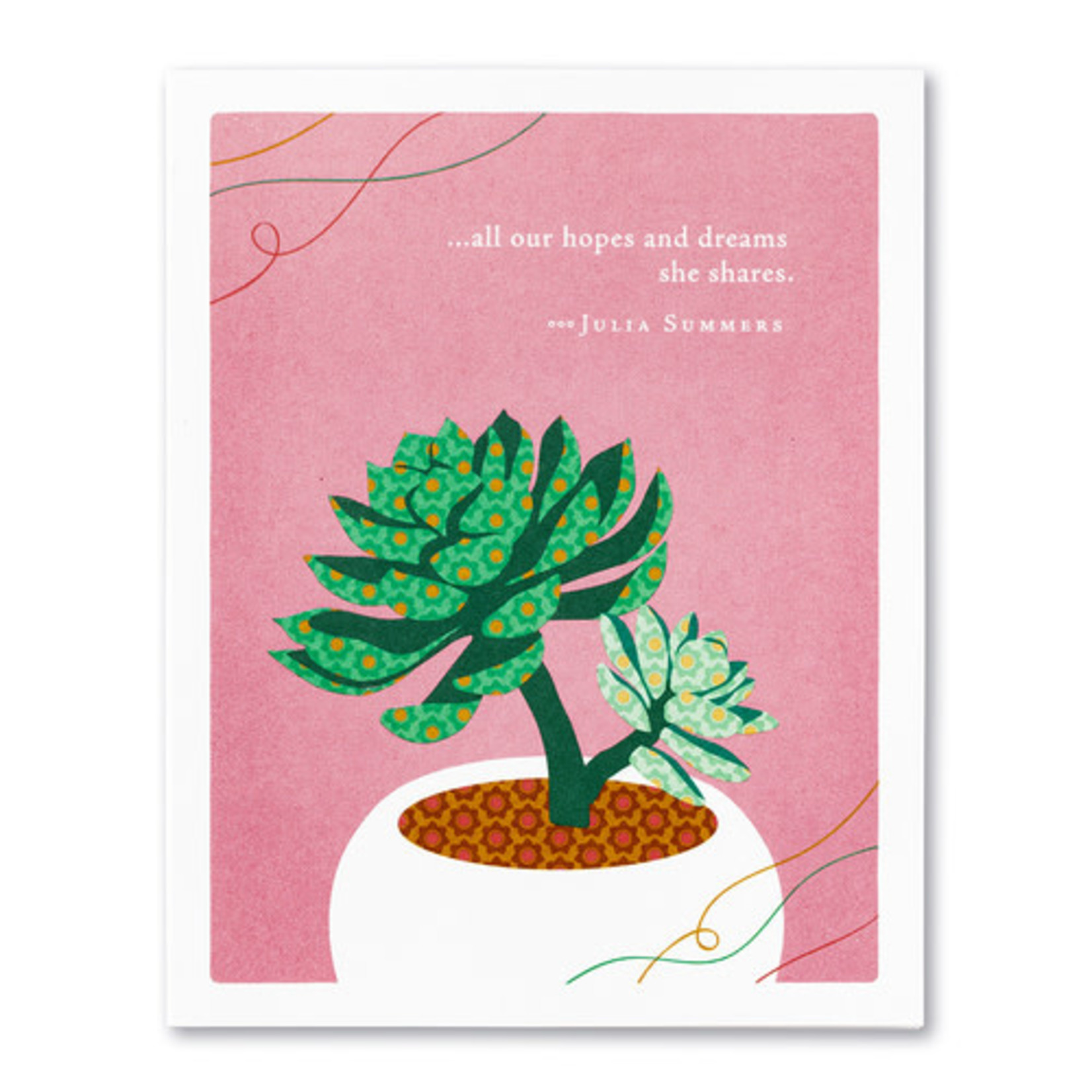 ALL OUR HOPES AND DREAMS CARD